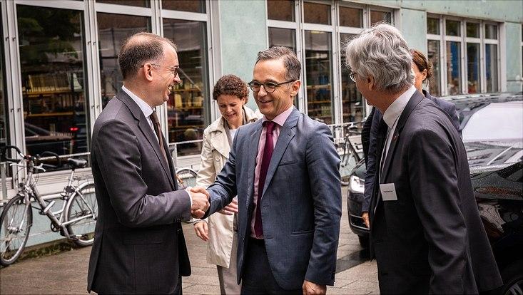Bundesaußenminister Heiko Maas informiert sich über die Hamburger  Klimaforschung - Universität Hamburg