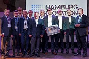 """15-05 / 04.06.2015  Hamburg Innovation Award in der Kategorie """"Idee"""" für ein EXIST-Projekt der Universität Hamburg"""