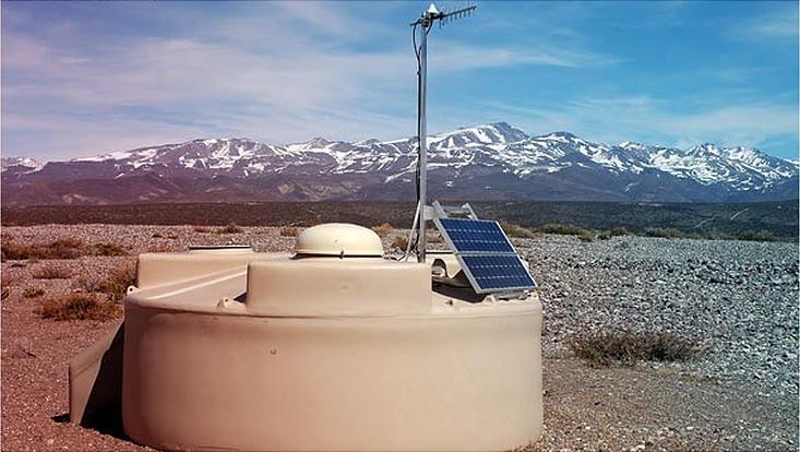 Pierre Auger-Observatorium in Argentinien